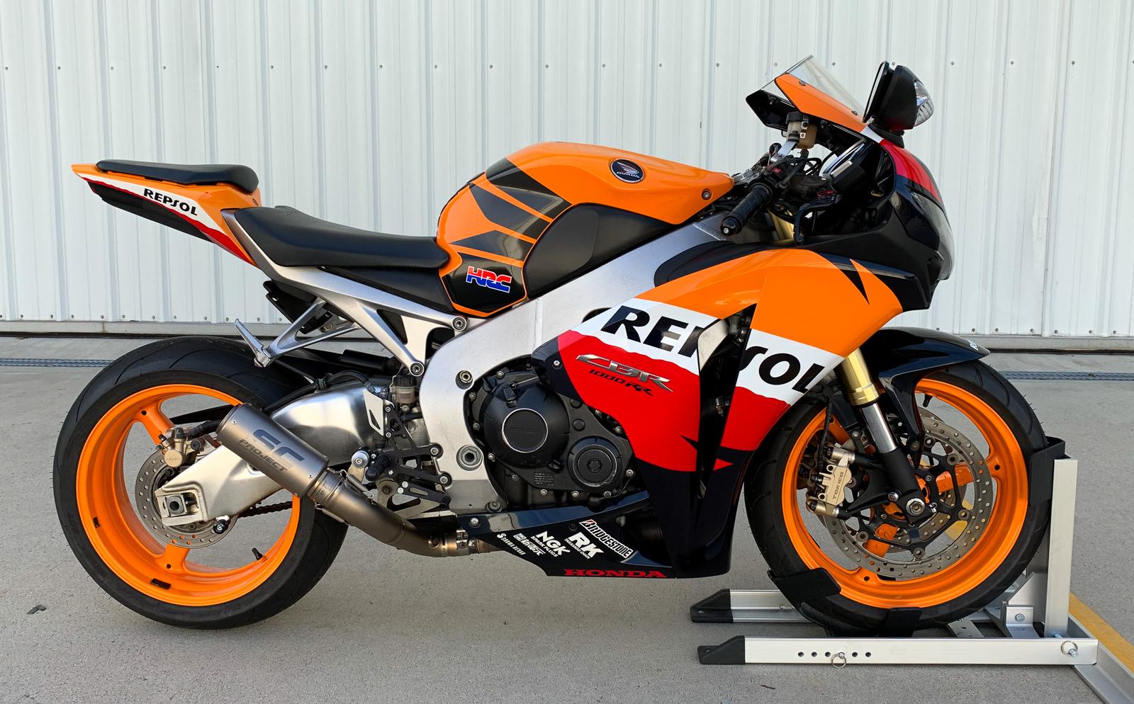 2009 Honda Cbr1000rr Repsol Iconic Motorbike Auctions